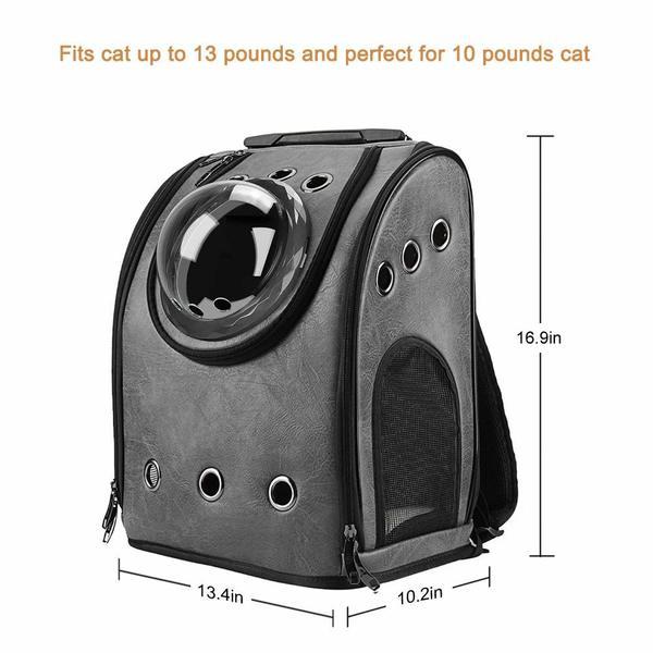 texsens cat backpack dimensions