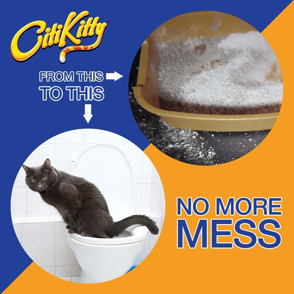 CitiKitty Cat Toilet Training Kit Cons
