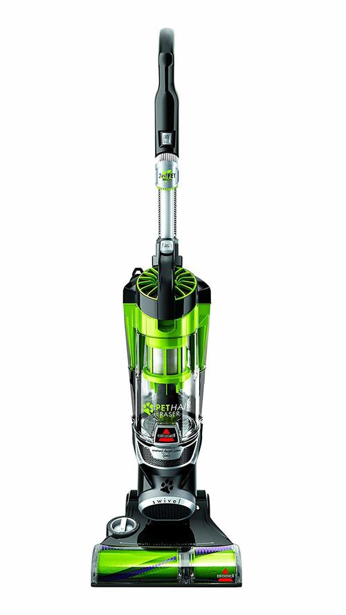 Bissell Cat Hair Eraser 1650A Upright Vacuum with Tangle-Free Brushroll