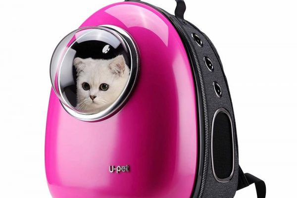 Upet Bubble Design Cat Backpack
